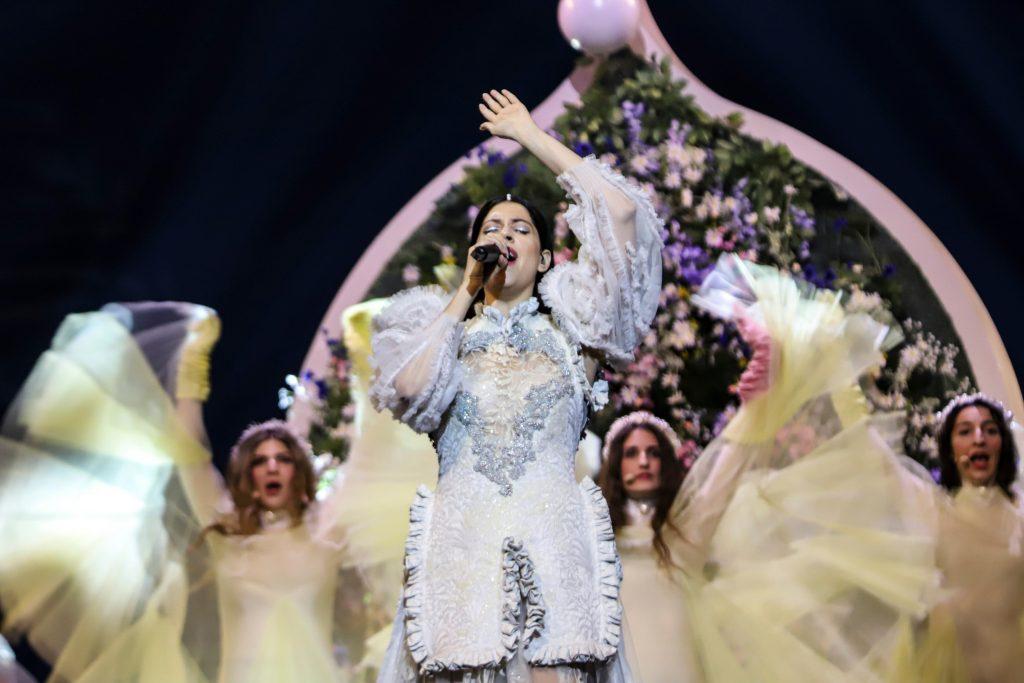 Katerine Duska - Better Love - Eurovision 2019 - Greece - 1st Rehearsal (14)