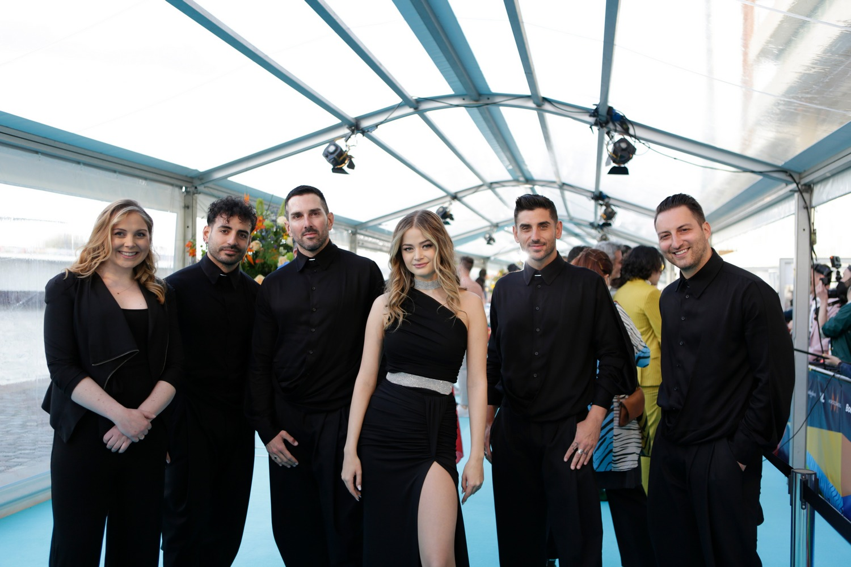 Stefania - Ελλάδα - Greece - Eurovision 2021 - Turquoise Carpet
